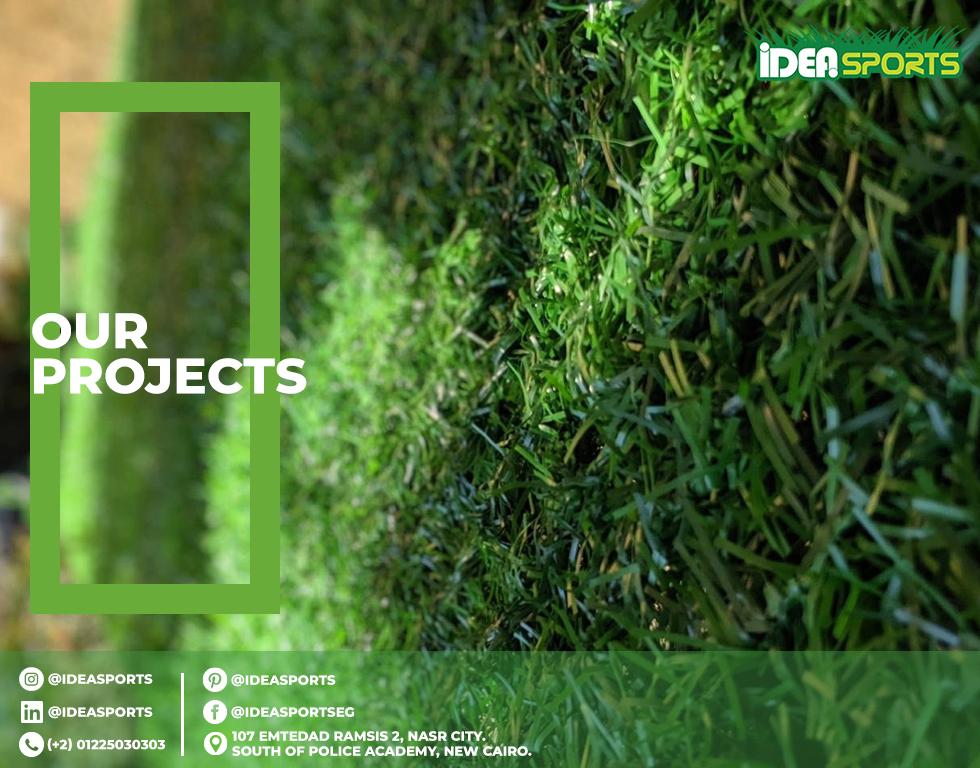 Artificial grass fences